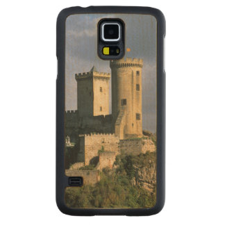 Chateau Comtal Chateau of the Counts of Carved® Maple Galaxy S5 Slim Case