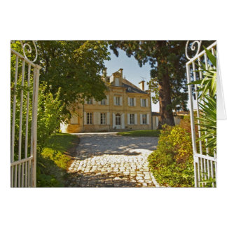Chateau Cos Labory in Saint St Estephe, wrought Card