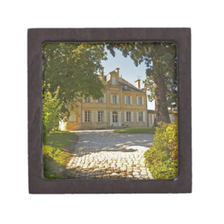 Chateau Cos Labory in Saint St Estephe, wrought Jewelry Box