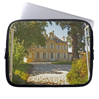 Chateau Cos Labory in Saint St Estephe, wrought Laptop Sleeves