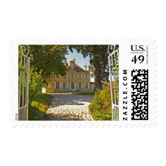 Chateau Cos Labory in Saint St Estephe, wrought Postage