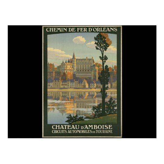 Chateau d'Amboise Postcard