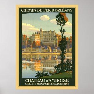 Chateau d'Amboise print