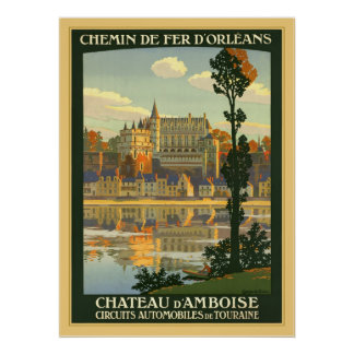 Chateau d'Amboise Posters