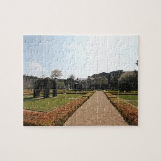 Chateau d'Angers - Garden inside the Fortress Jigsaw Puzzle