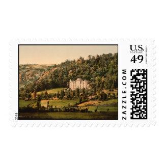 Château d'Anteroches, Auvergne, France Postage