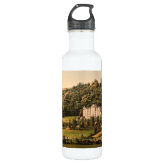 Château d'Anteroches, Auvergne, France Stainless Steel Water Bottle