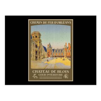Chateau de Blois Cour intrieure Postcard