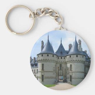 Château de Chaumont sur Loire Basic Round Button Keychain