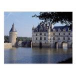 Chateau De Chenonceau, Francia Tarjeta Postal