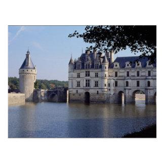 Chateau De Chenonceau Francia Tarjeta Postal