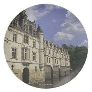 Chateau de Chenonceau in France Melamine Plate