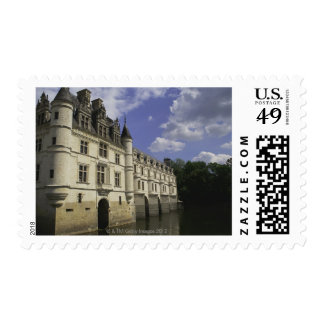 Chateau de Chenonceau in France Stamps
