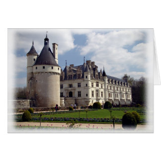 Château de Chenonceau Tarjeta De Felicitación
