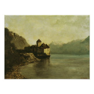 Chateau de Chillon, 1874 Poster