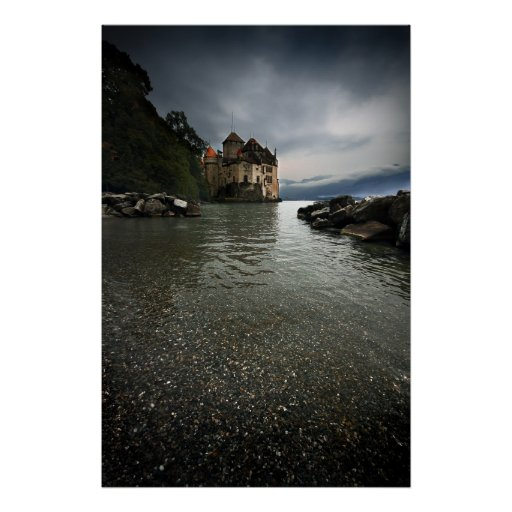 Chateau de Chillon Impresiones