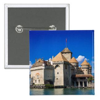 Chateau de Chillon Pinback Buttons