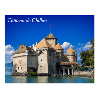 Chateau de Chillon Postcard