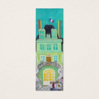 Chateau de Fontainebleau Fantasy skinny bookmark Mini Business Card