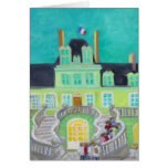 Chateau de Fontainebleau Fantasy Stationery Note Card