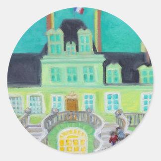 Chateau de Fontainebleau Fantasy sticker