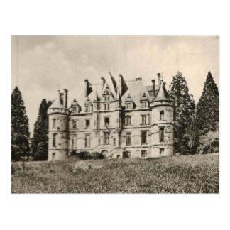 Chateau de la Roches Bagnoles castle Replica 1925 Postcard