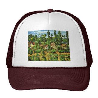Château De Médan By Paul Cézanne Best Quality Trucker Hat