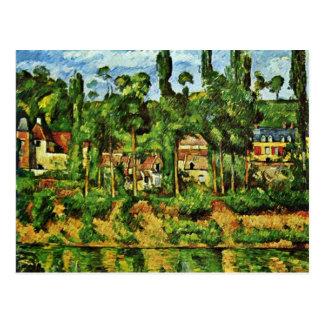 Château De Médan By Paul Cézanne (Best Quality) Postcard