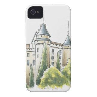 Chateau de Mercues, France iPhone 4 Case-Mate Case