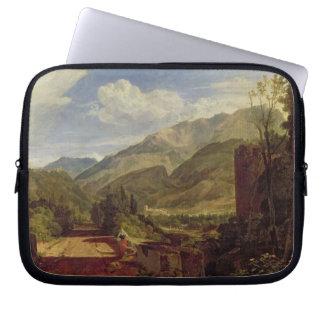 Chateau de St. Michael, Bonneville, Savoy, 1803 (o Laptop Computer Sleeve
