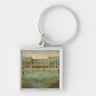 Chateau de Versailles from the Garden Side Keychain