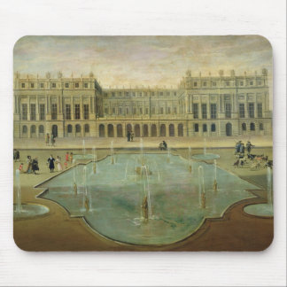 Chateau de Versailles from the Garden Side Mouse Pad