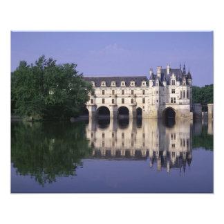 Chateau du Chenonceau el valle del Loira Foto