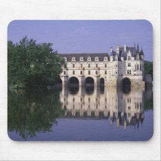 Chateau du Chenonceau el valle del Loira Alfombrillas De Ratones