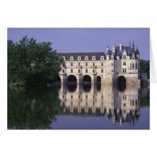 Chateau du Chenonceau el valle del Loira Felicitación