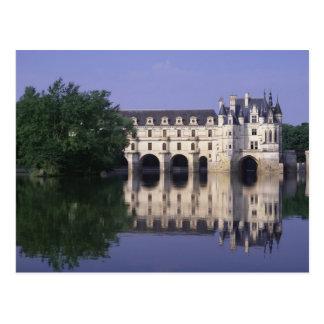 Chateau du Chenonceau, el valle del Loira, Postal