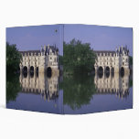 Chateau du Chenonceau, Loire Valley, 3 Ring Binder