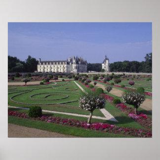 Chateau du Chenonceau, Loire Valley, Poster