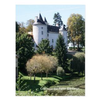 Château du Petit Broutet (small) Postcard