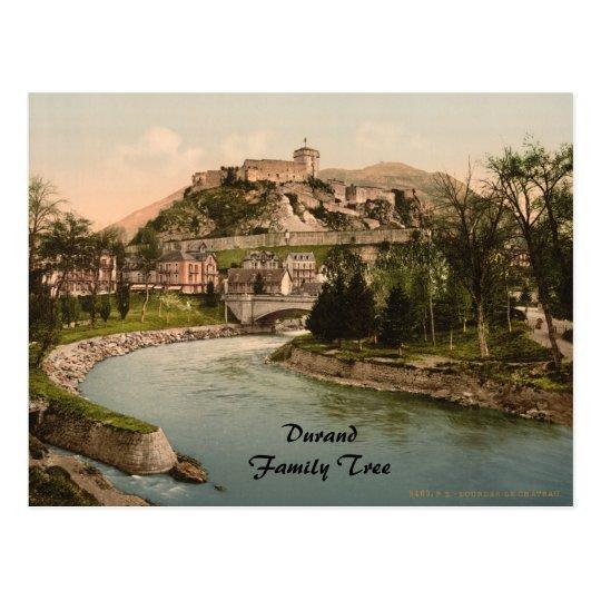 Château Fort de Lourdes, Lourdes, France Postcard