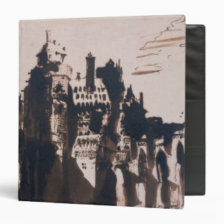 Chateau fortified by two Bridges Binder