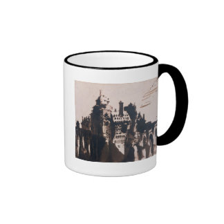 Chateau fortified by two Bridges Mugs