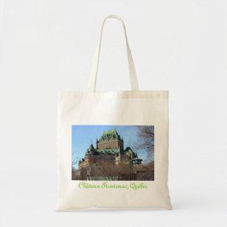 Château Frontenac, Québec, Canada Canvas Bags