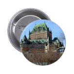 Château Frontenac, Québec, Canada Pinback Button