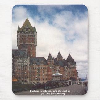 """""""Chateau Frontenac, Ville de Quebec"""" Mouse Pad"""