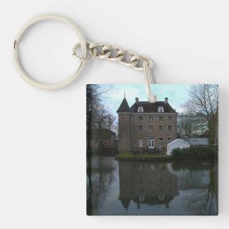 Château Holtmühle, Tegelen Single-Sided Square Acrylic Keychain