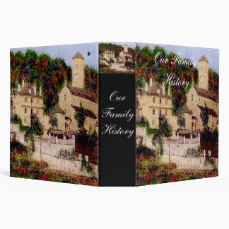 Chateau in the Clouds Binder