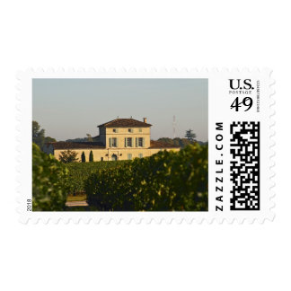 Chateau Lafleur Petrus and vineyard, in Pomerol, Postage