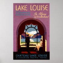 CHATEAU LAKE LOUISE CANADA Vintage Travel