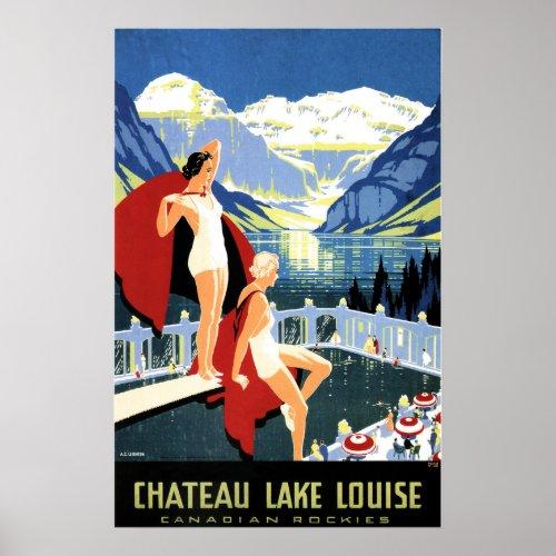 CHATEAU LAKE LOUISE Women Canadian Rockies Travel
